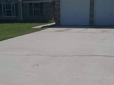 Concrete Cleaning and Sealing after