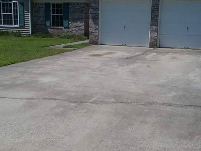 Concrete Cleaning and Sealing before